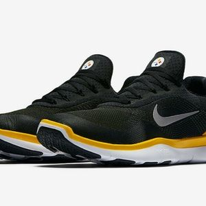 NEW NIKE PITTSBURGH STEELERS FREE TRAINER V7 SHOES